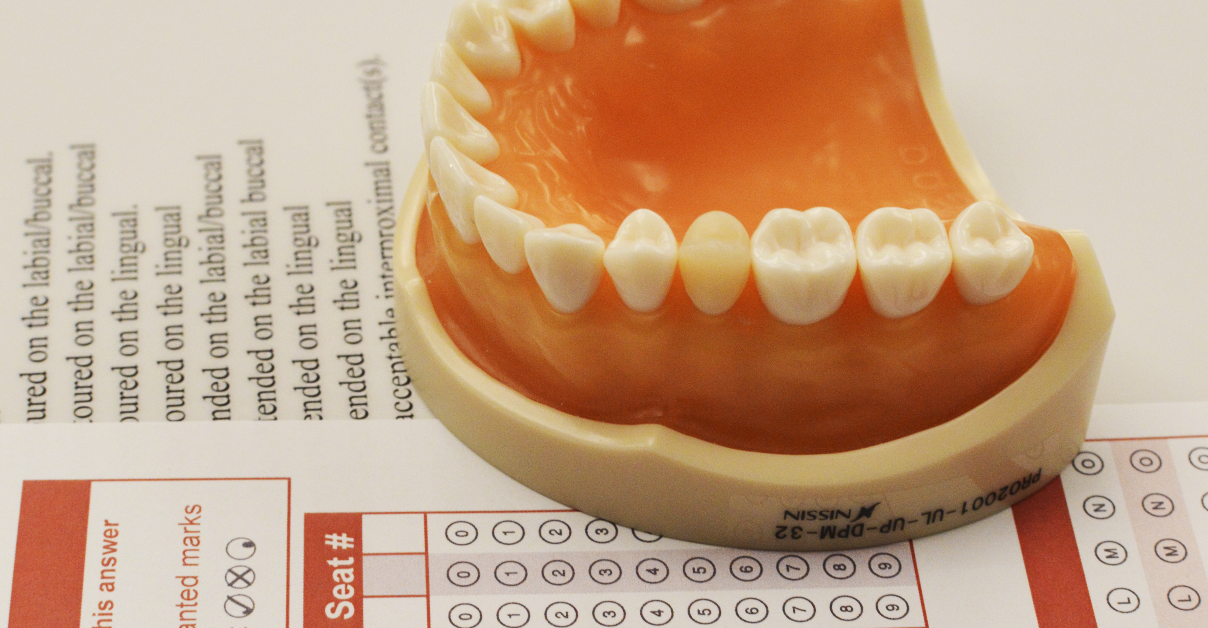Example of NDEB dental equivalency OSCE exam
